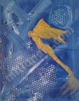 Angel Ferrazo - Mixed Media on Canvas 24'' x 16''