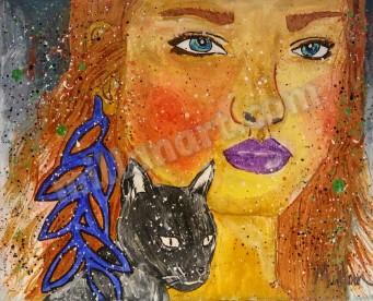 Friends - Acrylic on canvas 10'' x 12''