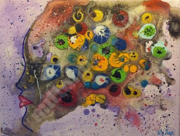 Me - Acrylic on Canvas 10'' x 12''