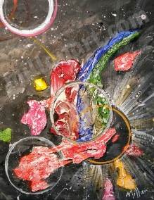 Hope - Mixed Media on Canvas 14'' x 11''